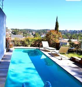 Floresta villa just 15min from Bcn!