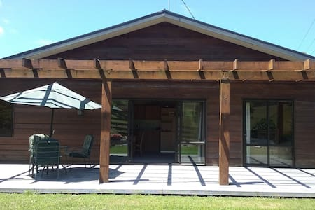 Secluded country lodge - Matamata - Kabin