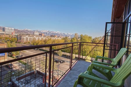 Loft Space Downtown || Great View - Salt Lake City - Wohnung