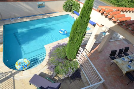 Villa with private pool close to beaches and Spain - Saint-Génis-des-Fontaines - Villa
