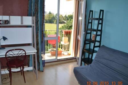 Chambre meublée sur balcon - Saint-Priest