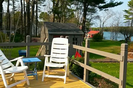 Spacious Suite on water view property! - Harpswell - Apartment