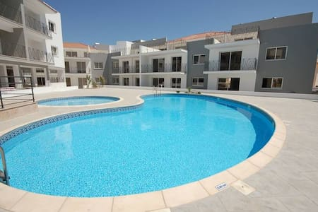 Nice, fully furnished 2-bed apartment with pool - Paralimni - Leilighet
