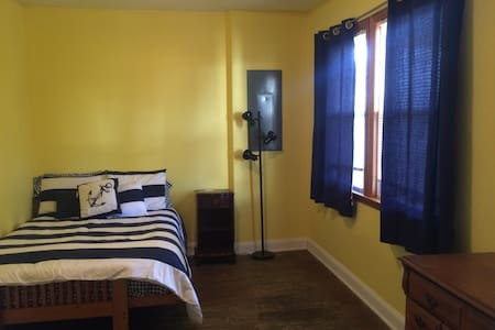 Private Room - Charming Beach House - Long Branch - Σπίτι