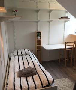 Cosy place, close to city and Ulriken - Loft