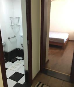 商业繁华区临江全新精装一室两厅公寓 - Apartamento