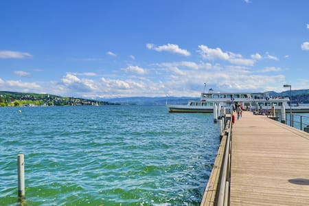 Luxury 2-room apartment near the lake of Zurich - Apartmen