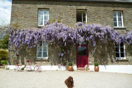 La ferme de la Totainerie - Saint-Jean-de-Savigny - Dom