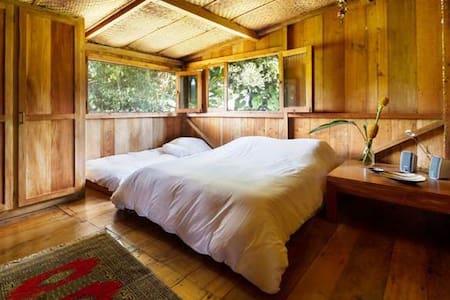 Rooms in beautiful wooden cabin - Mindo - Bed & Breakfast