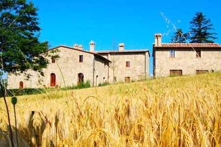 Hillside Tuscan Villa with Pool. - Roccalbegna - House