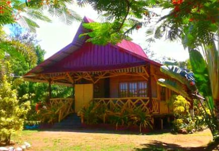 Pinoy's Native Beach House - Huis