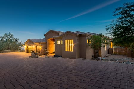 Luxury 4 Bdrm Surrounded by Desert Mtn & Golf - Fountain Hills - House