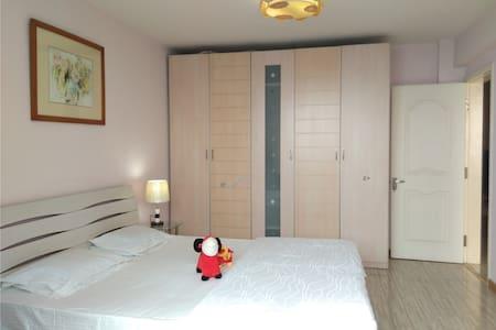 【无敌海景】五四广场奥帆中心两卧温馨套房!Qingdao Center - Qingdao - Lägenhet
