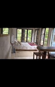 Cachagua, dormitorio tipo loft baño - Loft