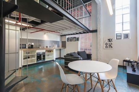 Johannesburg city industrial loft - Apartment