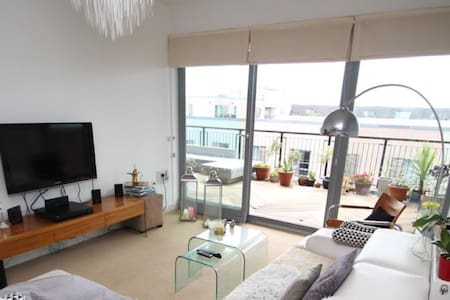 Beautiful, spacious apartment by the sea - Plymouth - Apartamento