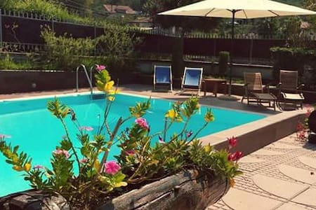 Appartamento  in villa con piscina, relax e natura - Agropoli - Apartment
