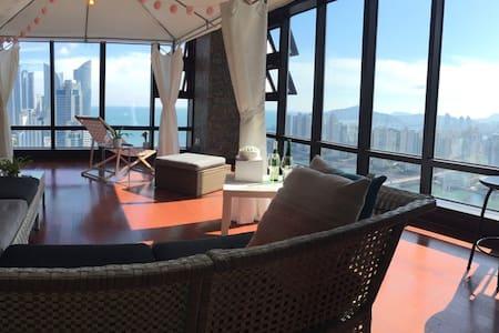 #PentHouse #3BRs #panorama ocean view family suite - Kondominium