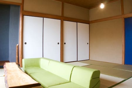 Cozy&Clean room / pocket Wi-Fi / Central ITOSHIMA - Appartement