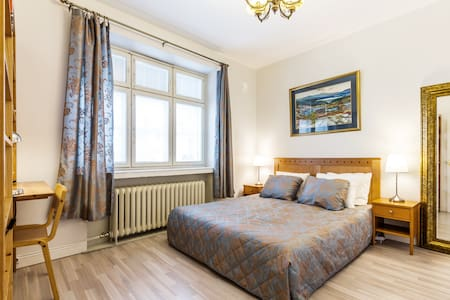 Warm&Cozy room near Kamppi center - Condominium