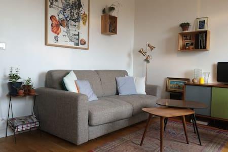 2 cozy rooms 5 min from Paris - Apartment