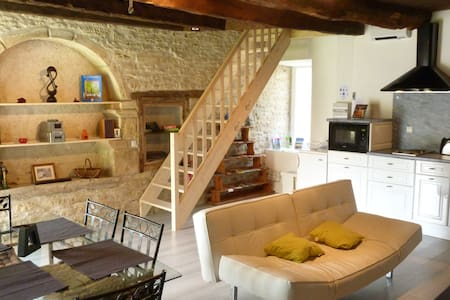 Gite Les Faluns, Self Catering Holiday Home Dinan - Tréfumel - Casa