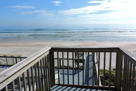 Direct Oceanfront New Smyrna Beach House private - House