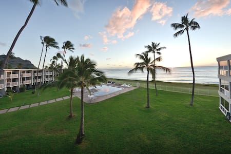 Oceanfront top floor beach-get-away - Waianae - Condominio