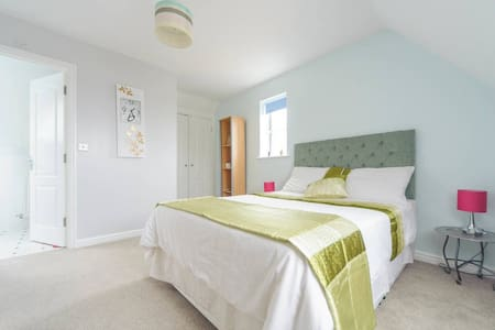 Delightful Cosy Double Room in Lincolnshire - Grantham - Huis