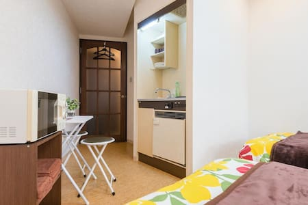 LS1☆2BED☆Nipponbashi5m☆WIFIfree☆Namba10m☆4p - Appartement