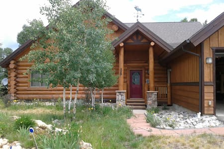 Modern Log Cabin - Ski, Golf, Fish - House