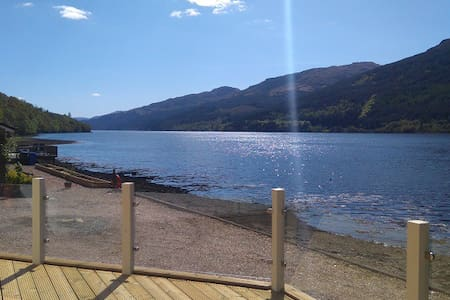 Ardmay Chalet Arrochar, stunning lochside location - Arrochar