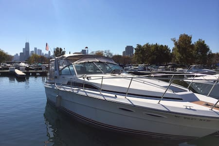 35ft Boat with full cabin Chicago
