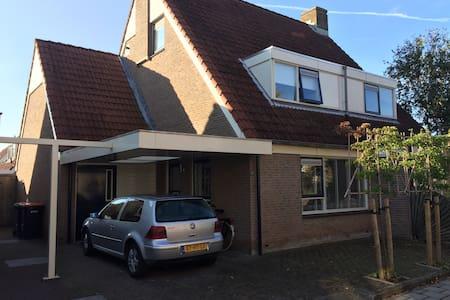 Comfortable room near the coast! - Warmenhuizen - Rumah