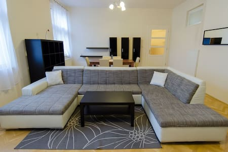 Lovely spacious apartment in centre - Košice - 公寓