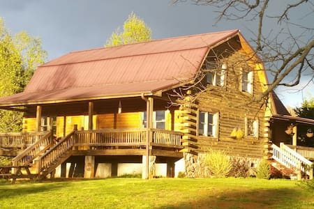 Cabin suite on Rustic Hills Farm!!! - Cabin