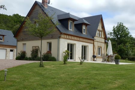 Ma douce campagne, maison 6-8 pers - Blangy-le-Château