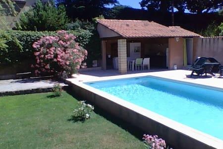 villa proche d'uzes - Saint-André-d'Olérargues - Huis