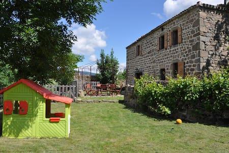 Maison ancienne avec piscine en Ardèche verte - Vocance - Haus