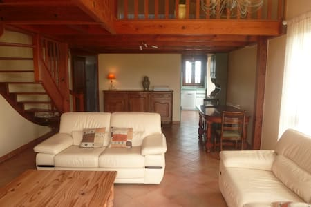 Villa grand calme, panorama mer montagnes, Ajaccio - Cuttoli-Corticchiato - House