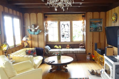 Historic Home-close to beach, downtown and shops - Stinson Beach - Hus