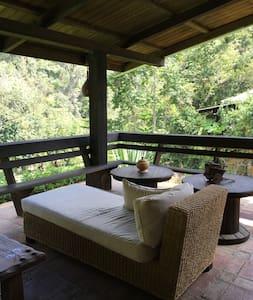 Rancho Cipres @Manabao, Jarabacoa - Cottage