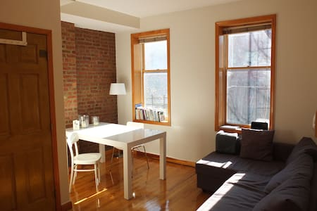 Enjoy our newly renovated two-bedroom apartment with spacious living room, full bathroom, kitchen and garden access. It's in the trendy Cobble Hill area and just 15 minutes from Manhattan.