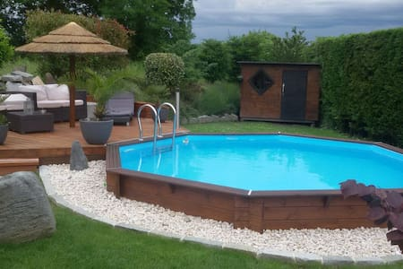 Pavillon au calme avec piscine - Sauverny