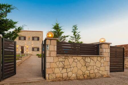 Villa Aroni: newly built, posh, private and pretty - Akrotiri - Haus