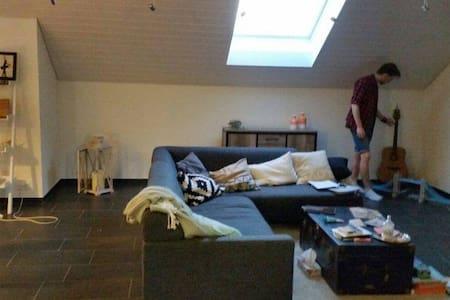Cozy Couch in even cozier flat - Wetzikon - Condominium