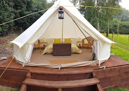 Cosy Glamping in Cribyn, Mid Wales - Tent