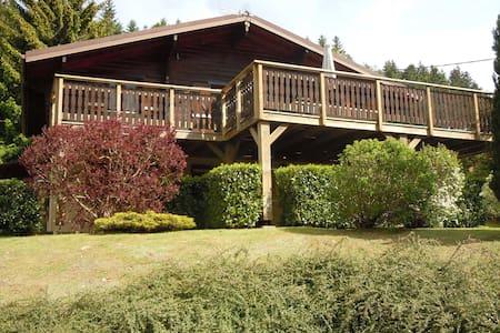 chalet avec  terrasse panoramique - Chalet