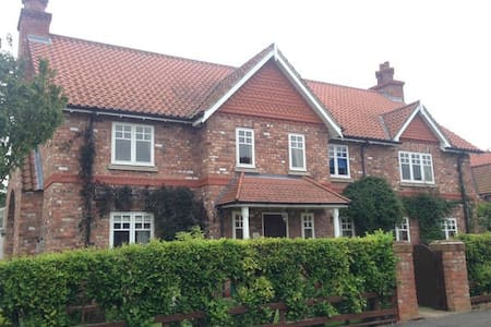Double in spacious house near York - Escrick - Huis