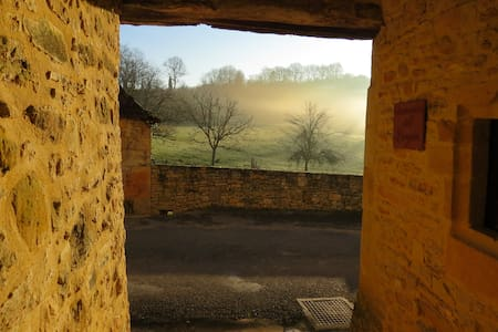 """La Borie"" Gîte en pierre proche de Sarlat - Berbiguières"